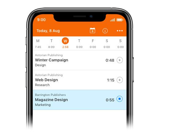 Harvest, de las mejores apps de time tracker